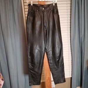 Vintage Genuine Leather High Waisted Pants Wilsons